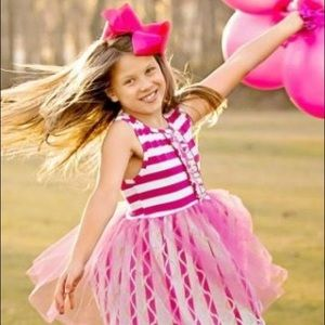 Other - Valentines Day Girls Pink Tulle Party Dress 8